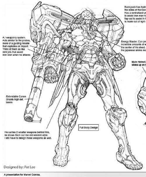 La armadura que llevara Iron-Man en la pelicula - Página 2 - Cine ...