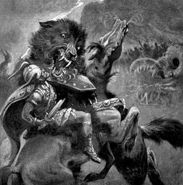 Den nordiska synen på ödet är kanske tydligast i myten om Ragnarök, en strid som asagudarna utkämpar trots att de redan från början vet att de kommer att falla.