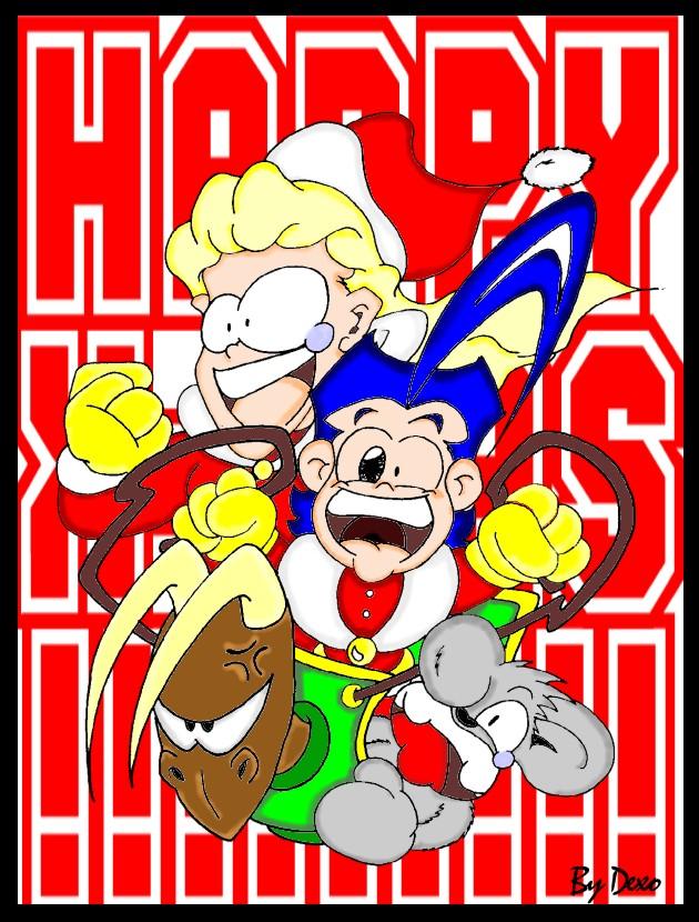 Ho ho ho! RevolutioN os desea Felices Fiestas!