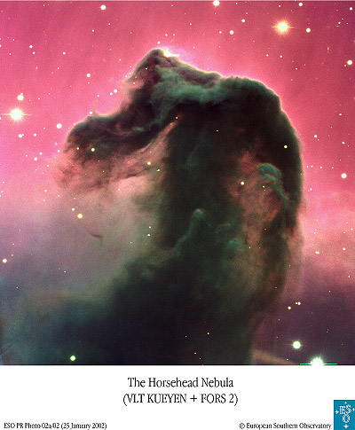 Horsehead Nebula... somewhere in Orion