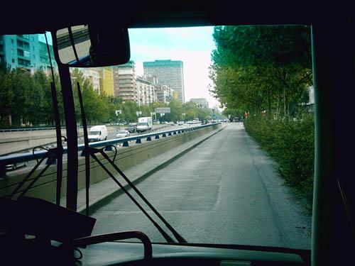On the bus? (Quo vadis)
