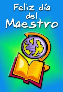 Tarjetas del Día del maestro, postales dia del maestro