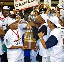 Once Caldas, el campeón de la Copa Libertadores 2004