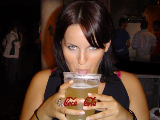 Cocacola amarilla