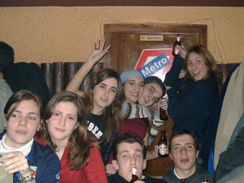 Stefa,Soraya,Marta,Son,Topo,Diana,PipiyAmapola