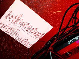 Setlist del primer concierto de Pixies
