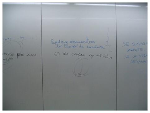 la pizarra de la sala de computación de sicología :D